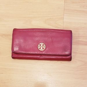 •TORY BURCH• red wallet